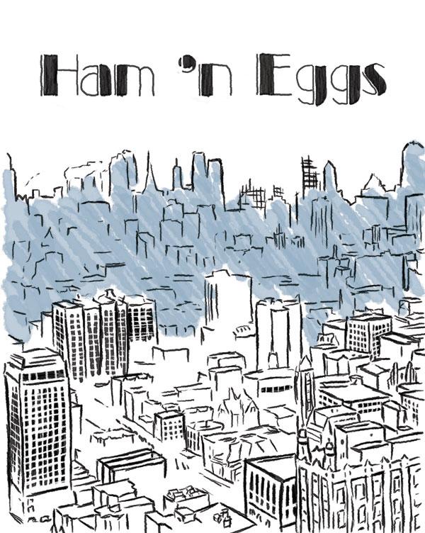 Ham 'n Eggs – Cover
